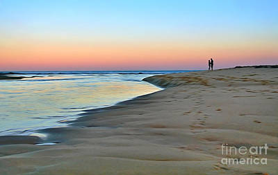 End Of A Perfect Day Poster by Kaye Menner