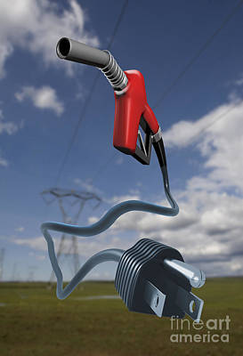 Energy Concept Poster by Mike Agliolo