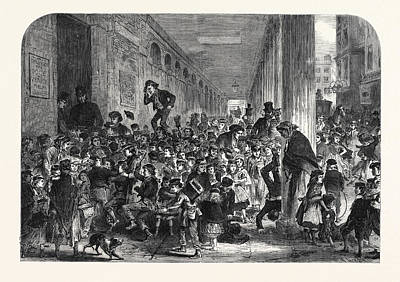 Engaging Children For The Christmas Pantomime At Drury Lane Poster
