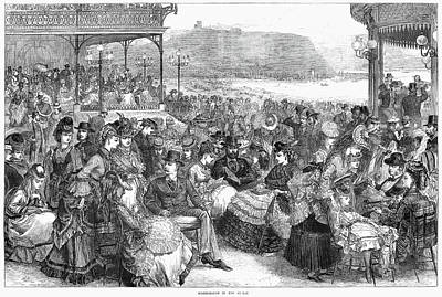 England Scarborough, 1871 Poster