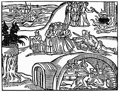 England Witch, 1591 Poster