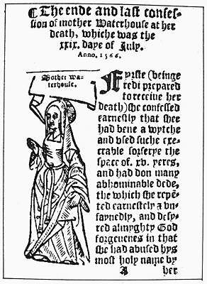 England Witch Trial, 1566 Poster