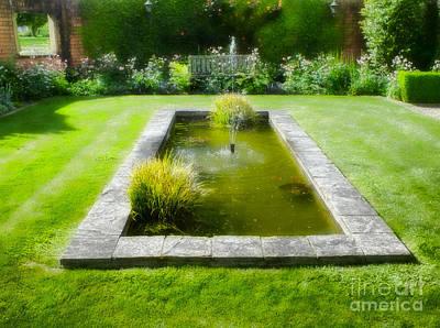English Garden Poster by Karen Lewis