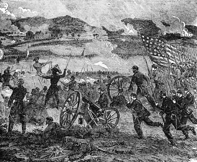 Engraving Of General Pickett Poster