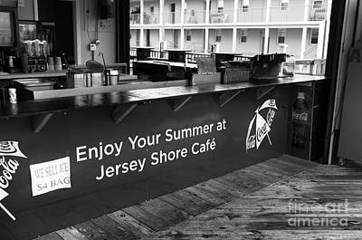 Enjoy Your Summer At The Jersey Shore Mono Poster