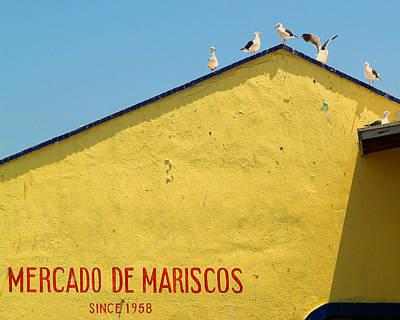 Ensenada Harbour Fish Market 33 Poster