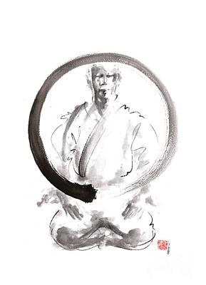 Enso. Zen Circle Martial Arts. Poster by Mariusz Szmerdt