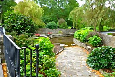 Enter The Garden Poster