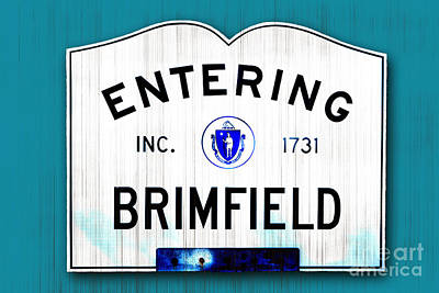 Entering Brimfield Poster by K Hines