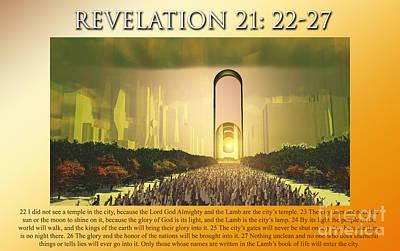 Entering God's Home Poster