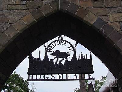 Entering Hogsmeade Poster by Elizabeth Dow