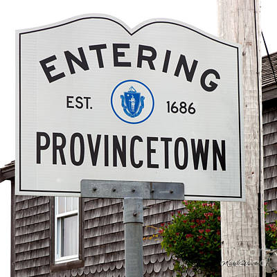 Entering Provincetown Poster
