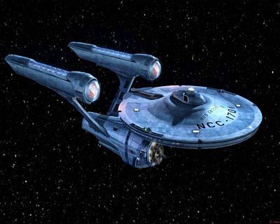 Enterprise Poster by Joe Misrasi