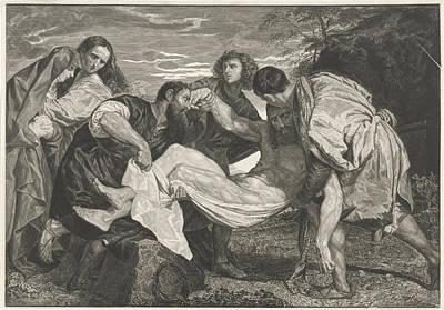 Entombment Of Christ, Johannes De Mare, Titiaan Poster