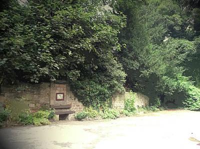 Entrance Door To Demolished Hall, Garden Portal Poster