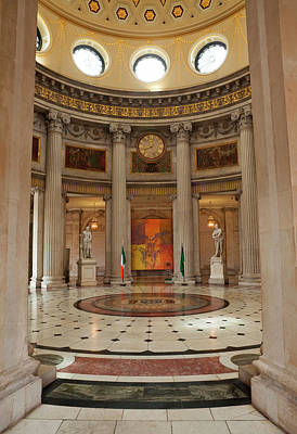 Entrance Hall In City Hall, Opened Poster by Panoramic Images