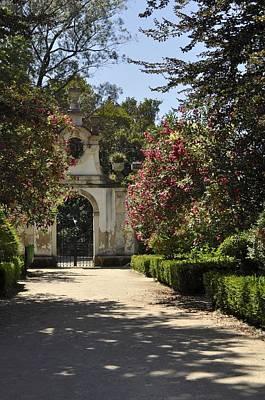 Entrance To A Secret Garden Poster by Sandy Molinaro