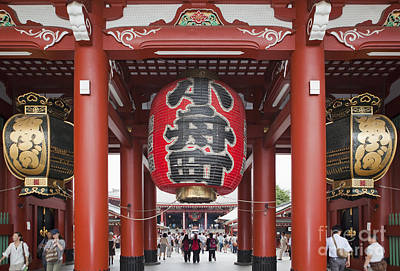 Entrance To Senso-ji Temple Poster