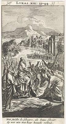 Entry Into Jerusalem, Jan Luyken, Anonymous Poster