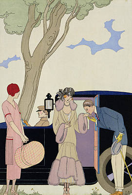 Envy Poster by Georges Barbier