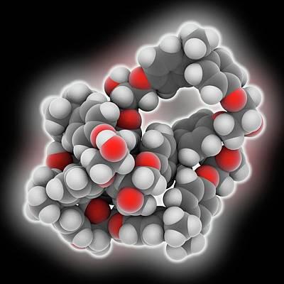 Epoxy Resin Polymer Poster by Laguna Design