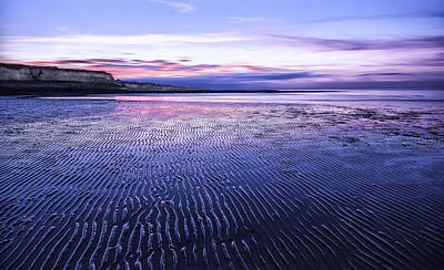 Epple Bay After Sunset Poster by Ian Hufton
