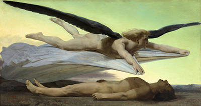 Equality Before Death Poster by William Adolphe Bouguereau