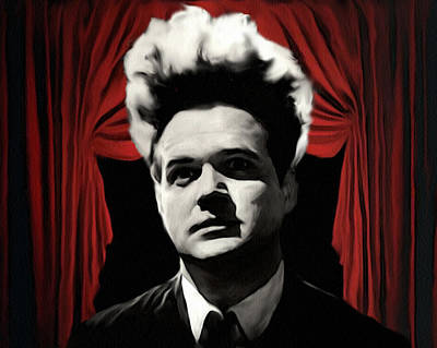 Poster featuring the painting Eraserhead by Jeff DOttavio