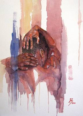 Erasto Man Of Peace Poster by Ray Agius