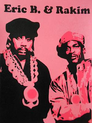 Eric B And Rakim Poster