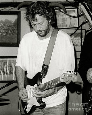 Eric Clapton 1988 Poster by Chuck Spang