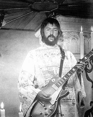 Eric Clapton In Tommy  Poster by Silver Screen