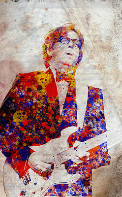 Eric Claptond Poster