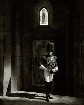 Erich Con Stroheim In The Play The Wedding March Poster by Edward Steichen