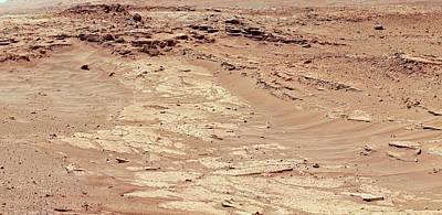 Erosion On Mars Poster