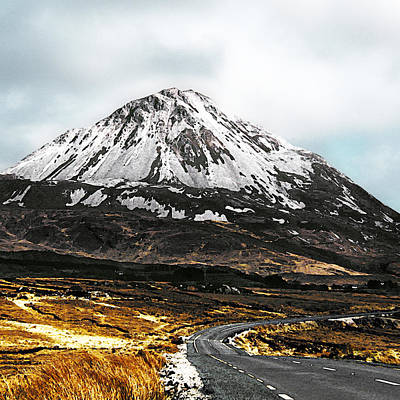 Errigal Donegal Ireland Poster by Jane McIlroy