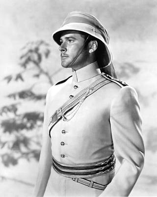 Errol Flynn In The Charge Of The Light Brigade Poster by Silver Screen