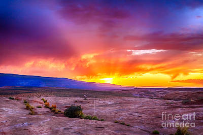 Escalante Sunset 2 Poster by Scotts Scapes