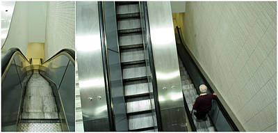Escalator 23 Minutes Poster by Eric Soucy