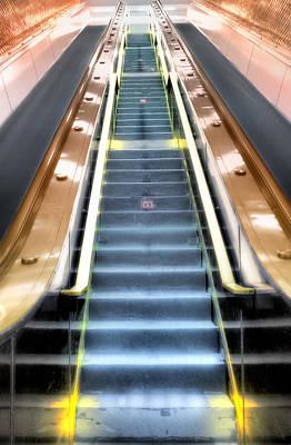 Escalator To Heaven Poster