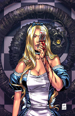 Escape From Wonderland 02c Poster by Zenescope Entertainment