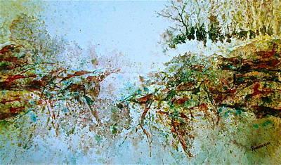 Escarpment Poster by Carolyn Rosenberger