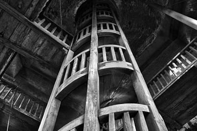 Poster featuring the photograph Escher's Hideaway by John  Bartosik