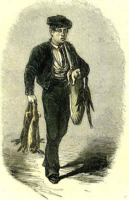Espana Hunter Hunt 19th Century Poster