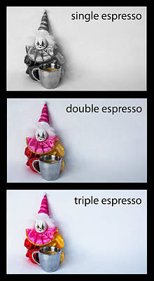 Espresso Choices Poster by William Patrick