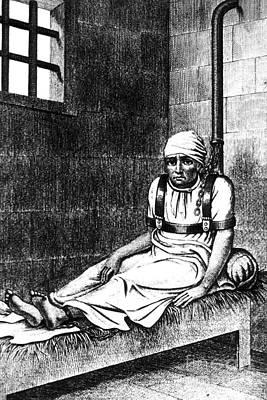 Esquirol Patient, Shackled Patient, 1838 Poster