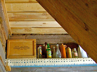 Estonian Butter In A Country Home In Rocca Al Mare Open Air Museum-estonia Poster by Ruth Hager