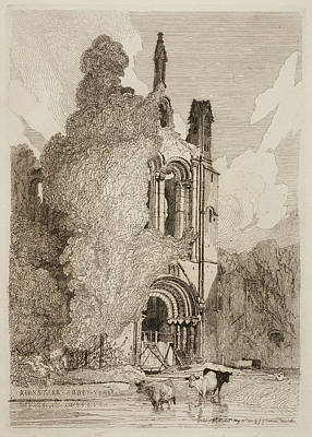 Etchings By John Sell Cotman Poster by British Library