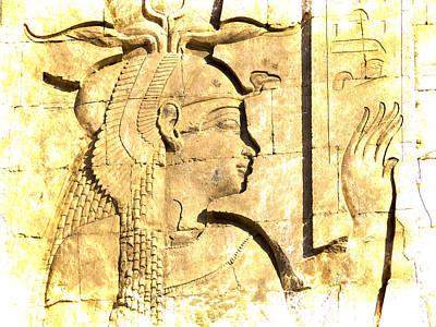 Eternal Goddess Isis Poster by Brenda Kean