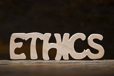 Ethics Poster by Donald  Erickson